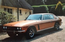 1976 Jensen Interceptor – Wooden Dash Model – SOLD